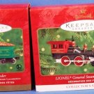 2000 - Hallmark - Keepsake Ornament - LIONEL General Steam Locomotive - The Tender