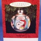 1993 - Hallmark - Keepsake Ornament - Peanuts - Merry Christmas - Glass Ball Ornament