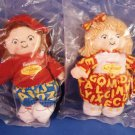 2002 - Campbell Soup Company - The Alphabet Soup - Little Girl & Boy - Collectible Doll Set