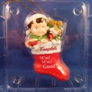 2003 - Campbell Soup Company - M'm M'm Good - Santa's Boot - Collectible Ornament