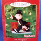 2000 - Hallmark - Keepsake - 65th Anniversary - Mr. Monopoly - MONOPOLY Game - Christmas Ornament