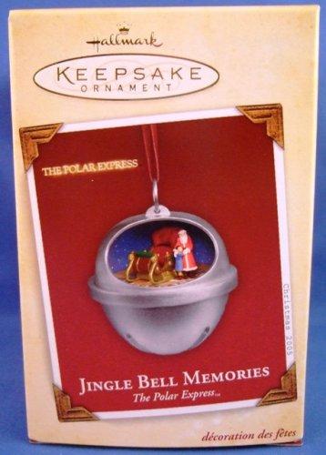 2005 - Hallmark - Keepsake Ornament - The Polar Express - Jingle Bell Memories