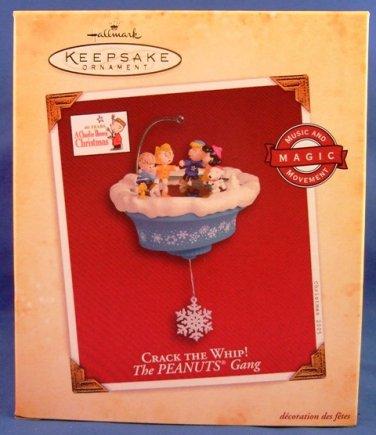 2005 - Hallmark - Keepsake Ornament - Peanuts - Crack The Whip - Christmas Ornament