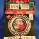 1991 - Coca-Cola - 1936 Tree Trim Collection - Original  Bottle Cap - Christmas Ornament