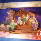 Holiday Time - Musical Animated - Nativity Shadowbox - Christmas Decoration