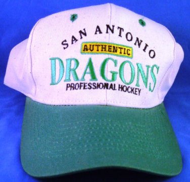 1980's Vintage - San Antonio - Authentic Dragons - Professional Hockey - Ball Cap