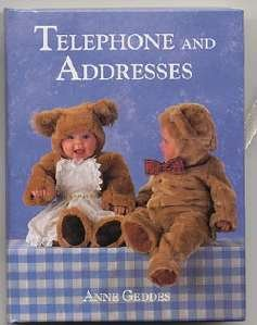 Teddy Bear Babies Telephone Address Book Anne Geddes