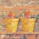 Pumpkin Baby Down in the Garden Journal Anne Geddes New