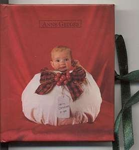 Red Xmas Baby Purse size Anne Geddes Photo Album NEW