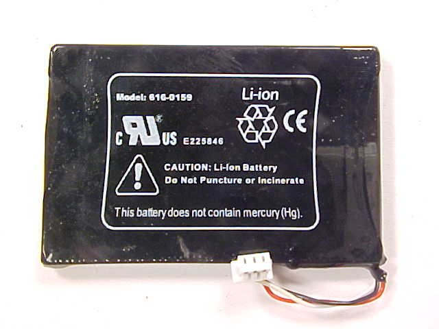 Apple IPOD 3rd Gen Li-Ion Lot of 3 Battery Parts 3G G3