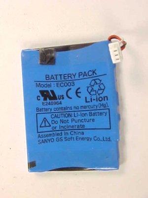 Apple Ipod Mini Battery EC003 Lot of 3 Parts MP3 Player
