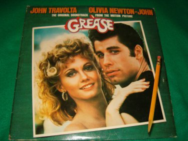 Original Soundtrack From Motion Picture Grease Two Record Set