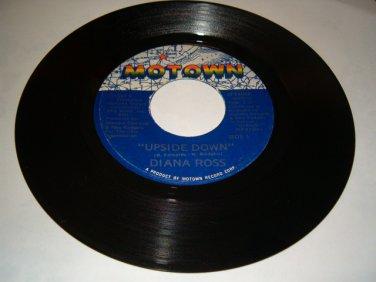 Diana Ross Upside Side Down Motown 45 rpm