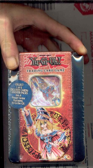 Limited Edition Dark Magician Girl sealed 2005 Holiday Tin FREE SHIPPING