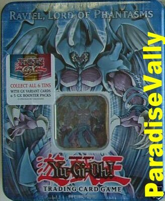 RAVIEL,LORD OF PHANTASMS 2006 YU-GI-OH HOLIDAY COLLECTORS TIN