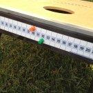 Corn Hole Magnetic ScoreKeeper (ORANGE/GREEN)