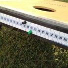 Corn Hole Magnetic ScoreKeeper (BLACK/GREEN)