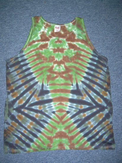 Tie Dye Tank Top X-Large #1