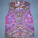 X-Large Sleeveless Tie Dye T-Shirt #2