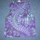 Tie Dye Sleeveless T-Shirt Large #2
