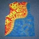 Tie Dye Sleeveless T-Shirt Large #3