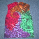 Tie Dye Sleeveless T-Shirt Large #5