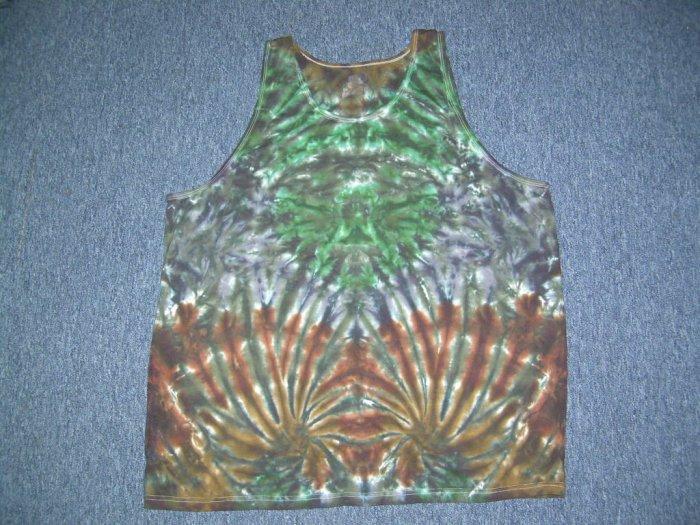 Tie Dye Tank Top X-Large #5