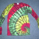 Tie Dye Long Sleeve Shirt Small #5