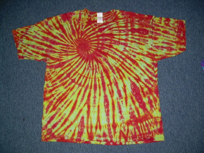 Mens Tie Dye Short Sleeve T-Shirt XX-Large #12