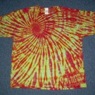 Mens Tie Dye Short Sleeve T-Shirt XX-Large #12