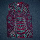 Tie Dye Sleeveless T-Shirt Medium #8