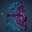 Tie Dye Sleeveless T-Shirt Medium #9