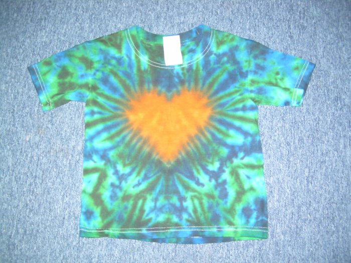 Tie Dye Youth Shirt 2-4 X-Small #1