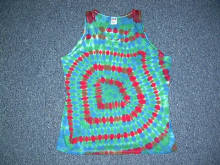 Tie Dye Tank Top Large #7