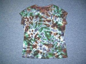 Womens Tie Dye Scoop Neck T -Shirt X-Large #2