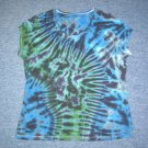 Womens Tie Dye Scoop Neck T -Shirt X-Large #4