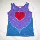 Womens Tie Dye Tank Top Small #1