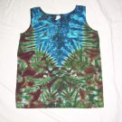 Womens Tie Dye Tank Top Small #2