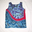 Womens Tie Dye Tank Top Small #4