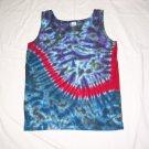 Womens Tie Dye Tank Top Small #4