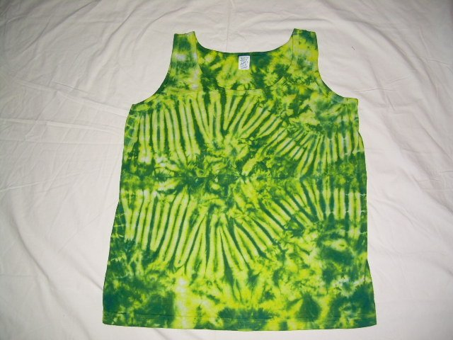 Womens Tie Dye Tank Top Medium #1