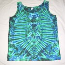 Womens Tie Dye Tank Top Medium #4