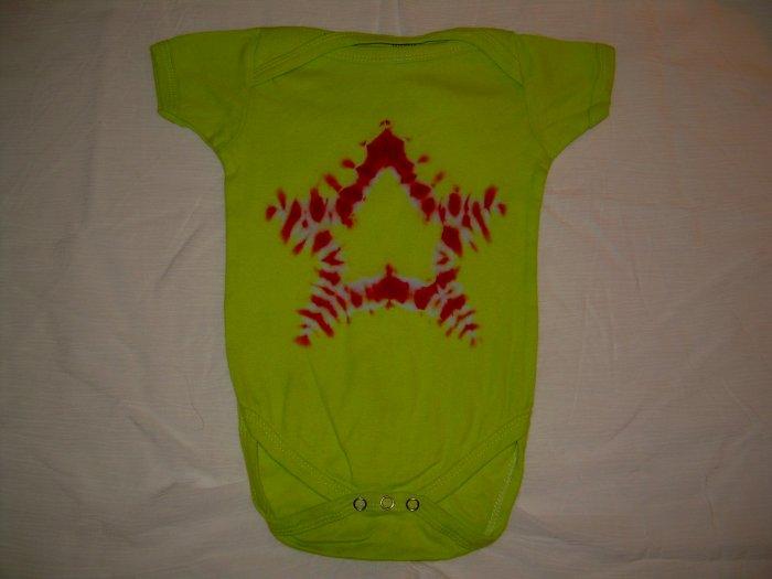 Tie Dye Onesie ShortSleeve Medium (6-9 months) (19-26 lbs) #7