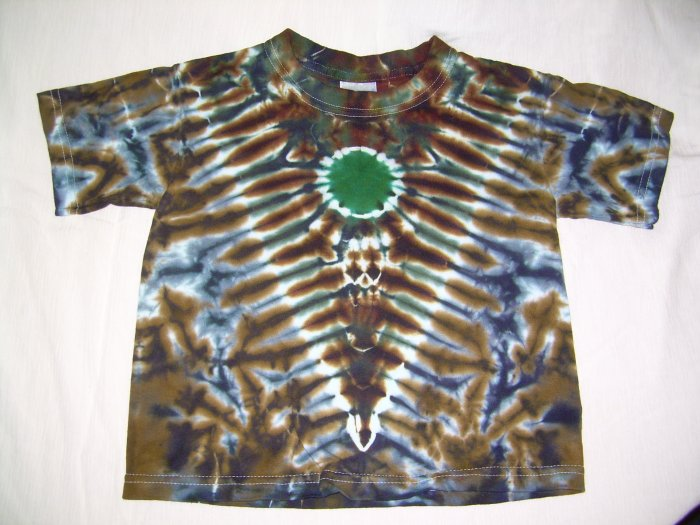 Tie Dye Toddler Short Sleeve T-Shirt 3T #3