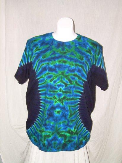 Womens Tie Dye Scoop Neck T -Shirt X-Large #12