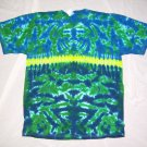 Mens Short Sleeve Tie Dye T-Shirt Large #27