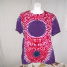 XX-Large Womens Short Sleeve Tie Dyed T-Shirt #2