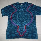 Large Mens Short Sleeve Tie Dye T-Shirt  #54