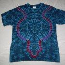 Large Mens Short Sleeve Tie Dye T-Shirt  #54