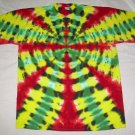2X-Large Tall Short Sleeve Mens Tie Dye T-Shirt #01